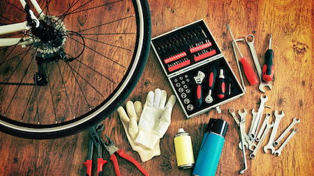 Bike maintenance made easy in 5 simple steps!